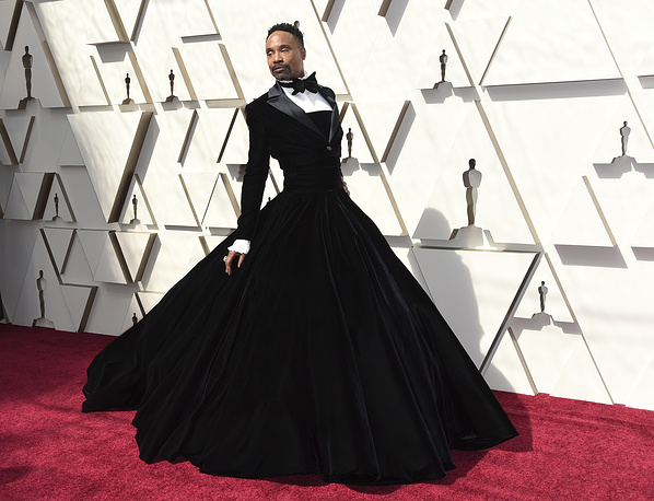 Billy Porter arrives at the 91st Academy Awards, at the Dolby Theatre in Los Angeles