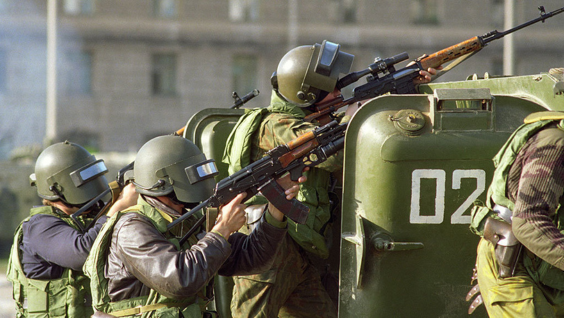 White House assault, October 4, 1993. Photo ITAR-TASS/ Oleg Vlasov