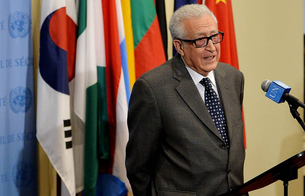 United Nations and Arab League special envoy to Syria Lakhdar Brahimi EPA/JUSTIN LANE
