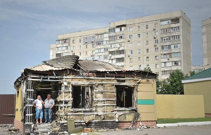 Archive. Luhansk, June 4, 2014 ЕРА/VALENTINA SVISTUNOVA