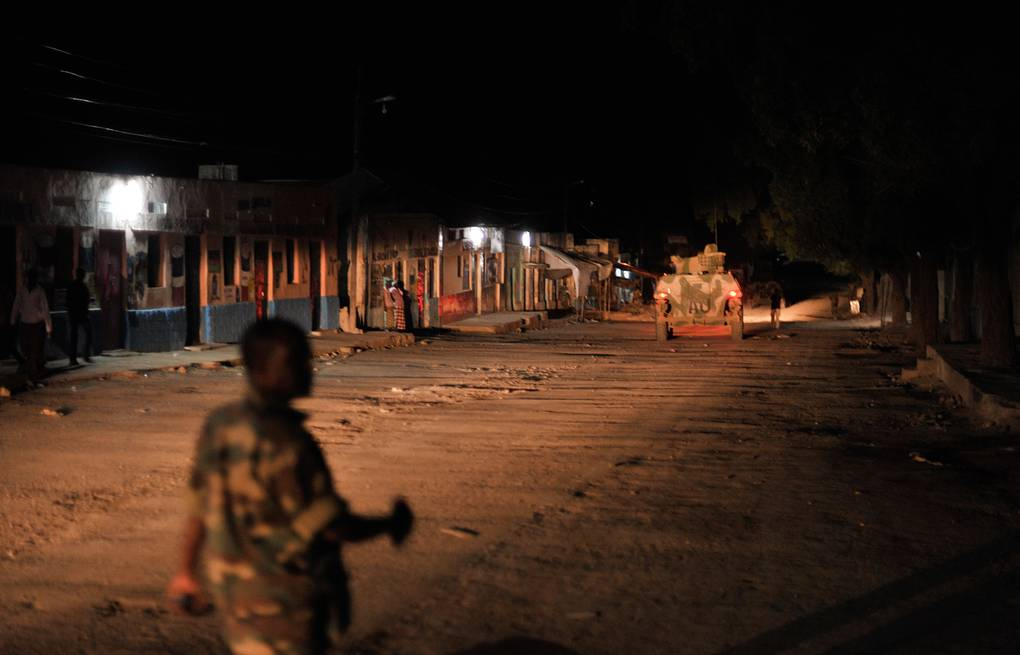African Union Mission in Somalia soldier during a night patrol in Somalia (archive)  EPA/TOBIN JONES / AMISOM PHOTO / HANDOUT