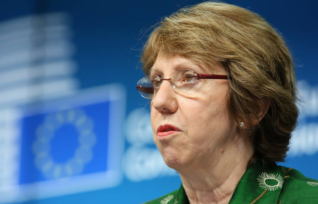 European Union High Representative for Foreign Affairs Catherine Ashton EPA/JULIEN WARNAND