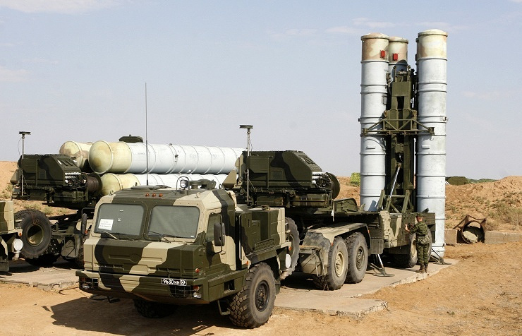 S-400 Triumf missile complex (NATO reporting name: SA-21 Growler) ITAR-TASS/Dmitry Rogulin