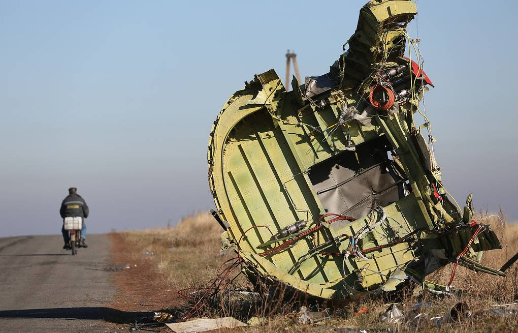 The site of MH17 crash in Donbas (archive) TASS/Mikhail Pochuev