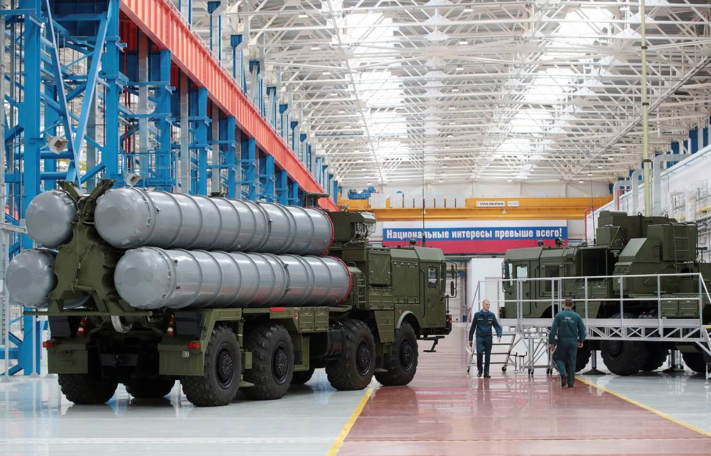 S-400 air defense system Mikhail Metzel/TASS