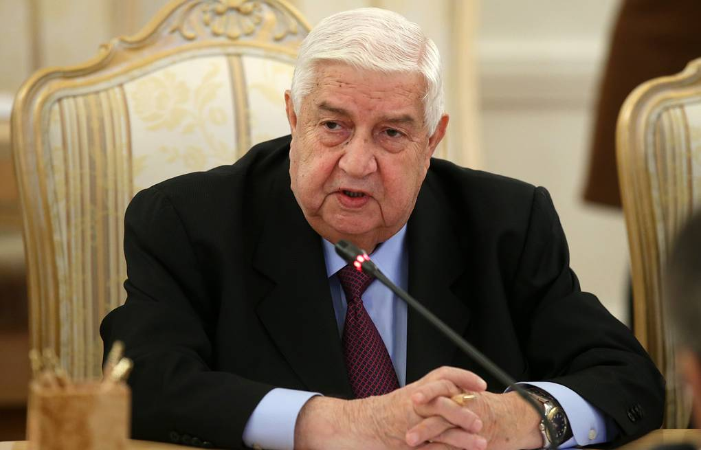 Syrian Foreign Minister Walid al-Moualem Artyom Korotayev/TASS