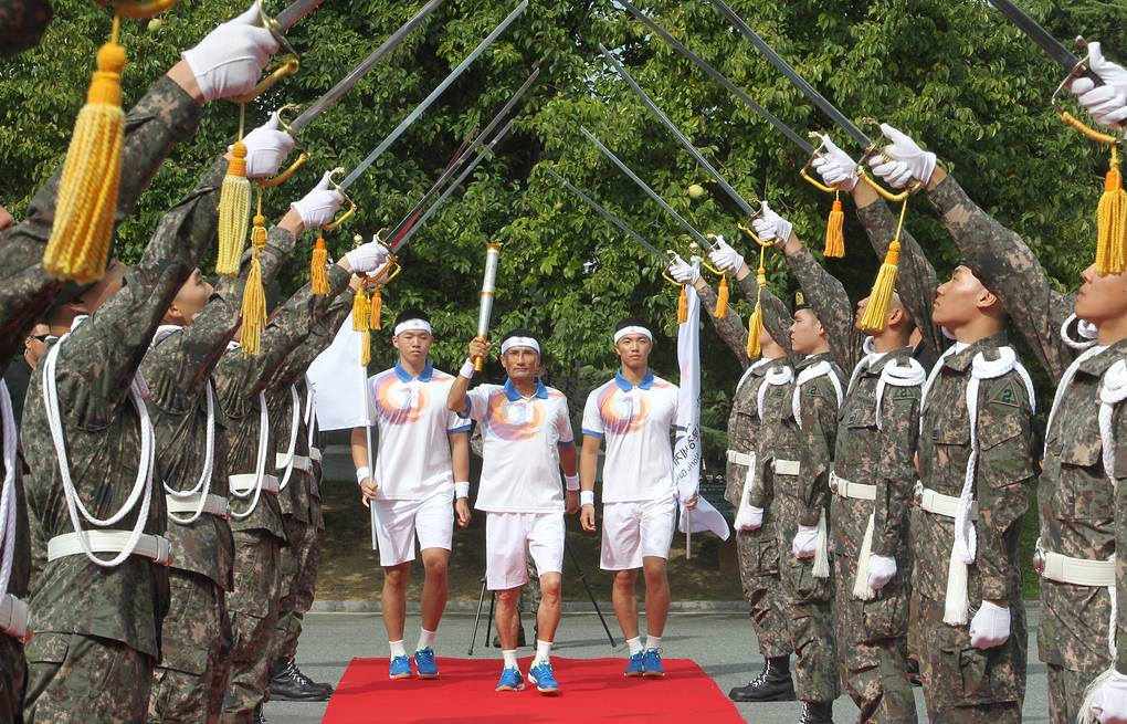 2015 Summer Military World Games in South Korea EPA/YONHAP