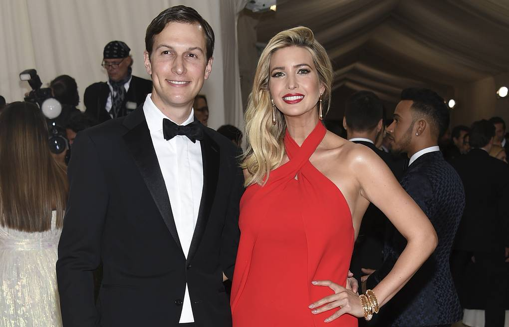 Jared Kushner and Ivanka Trump Photo by Evan Agostini/Invision/AP