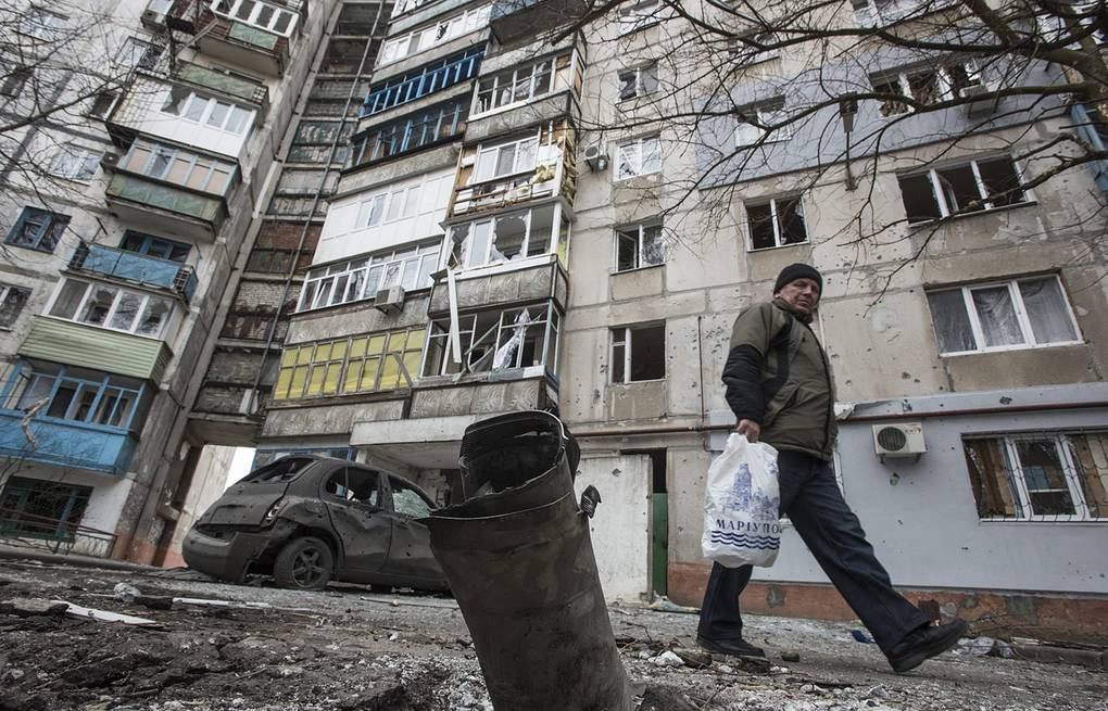 Mariupol, Eastern Ukraine AP Photo/Evgeniy Maloletka