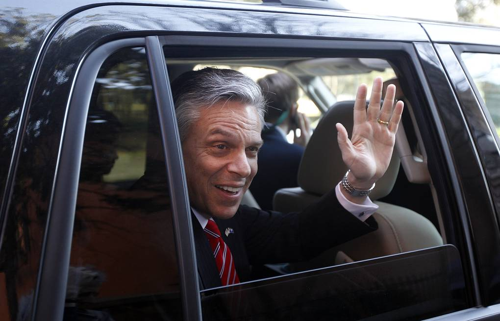 Jon Huntsman  AP Photo/Matt Rourke