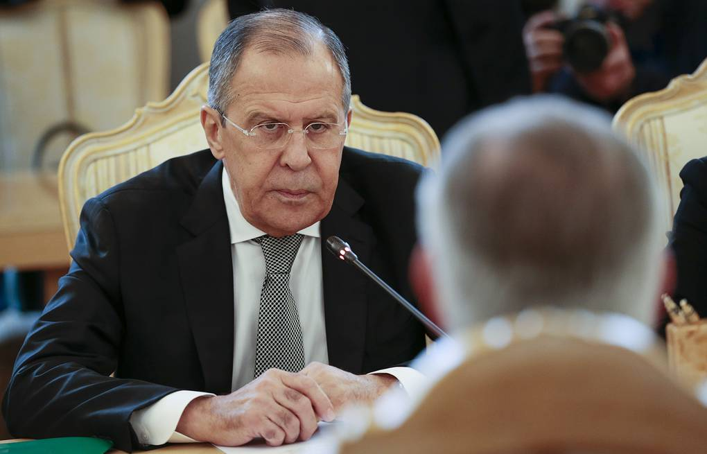 Russian Foreign Minister Sergey Lavrov AP Photo/Ivan Sekretarev