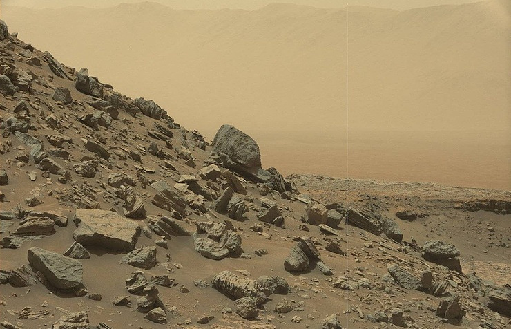 Mars surface EPA/NASA/JPL-Caltech/MSSS