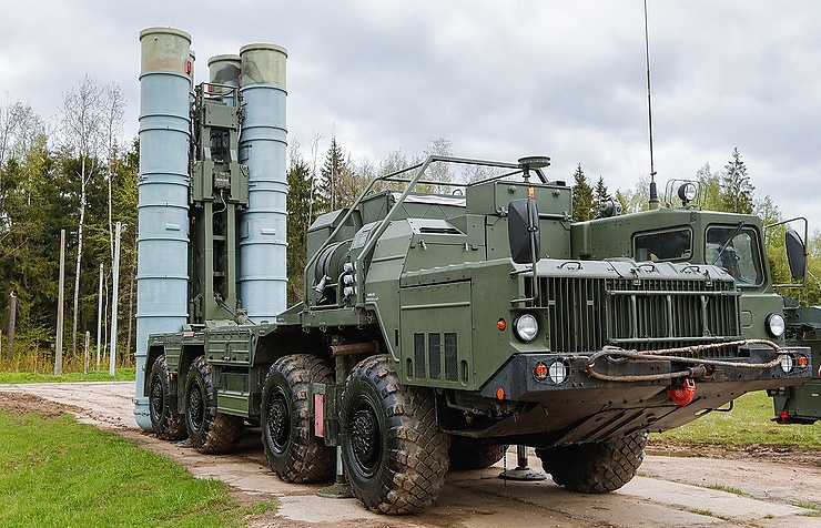 S-400 long-range air defense missile system Mikhail Japaridze/TASS