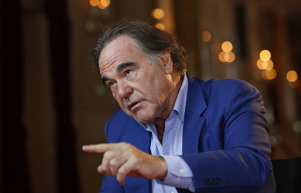 Oliver Stone AP Photo/Amel Emric