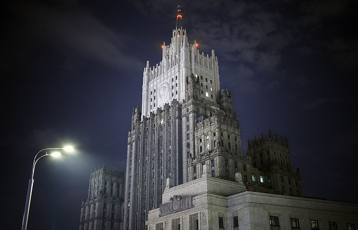 Russia's Foreign Ministry building in Moscow  Roman Kanaschuk/TASS