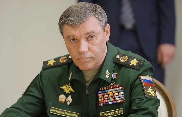 The chief of the Russian General Staff, Army Gen. Valery Gerasimov Mikhail Metzel/TASS