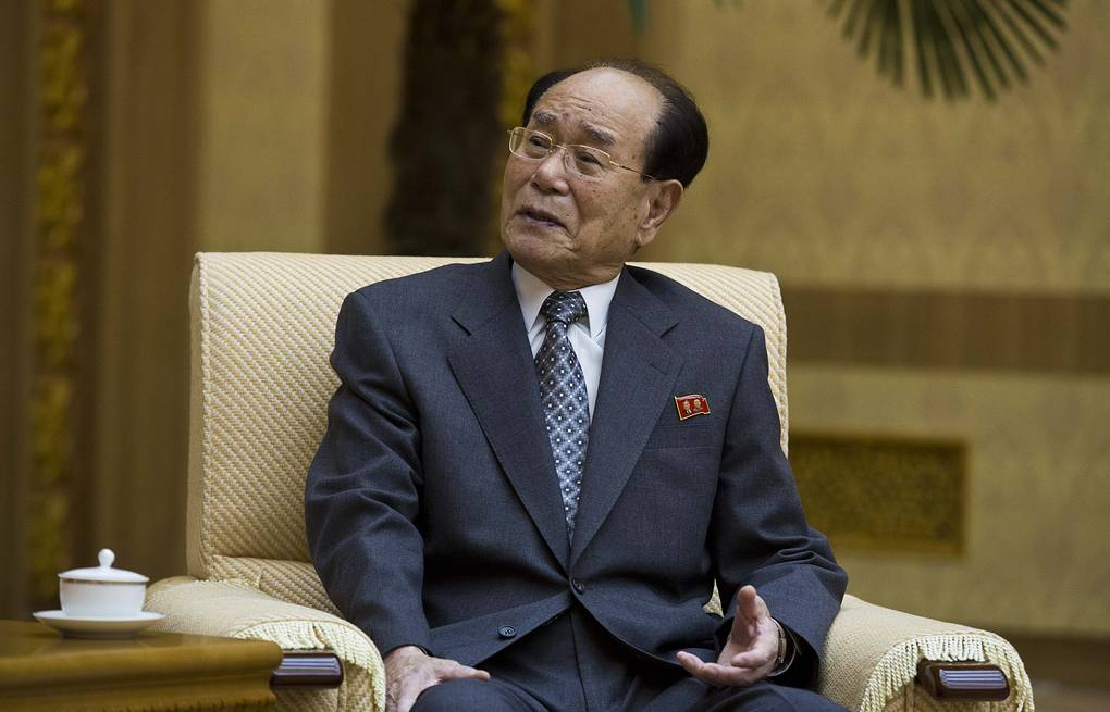 President of the Presidium of Supreme People's Assembly Kim Yong-nam AP Photo/David Guttenfelder