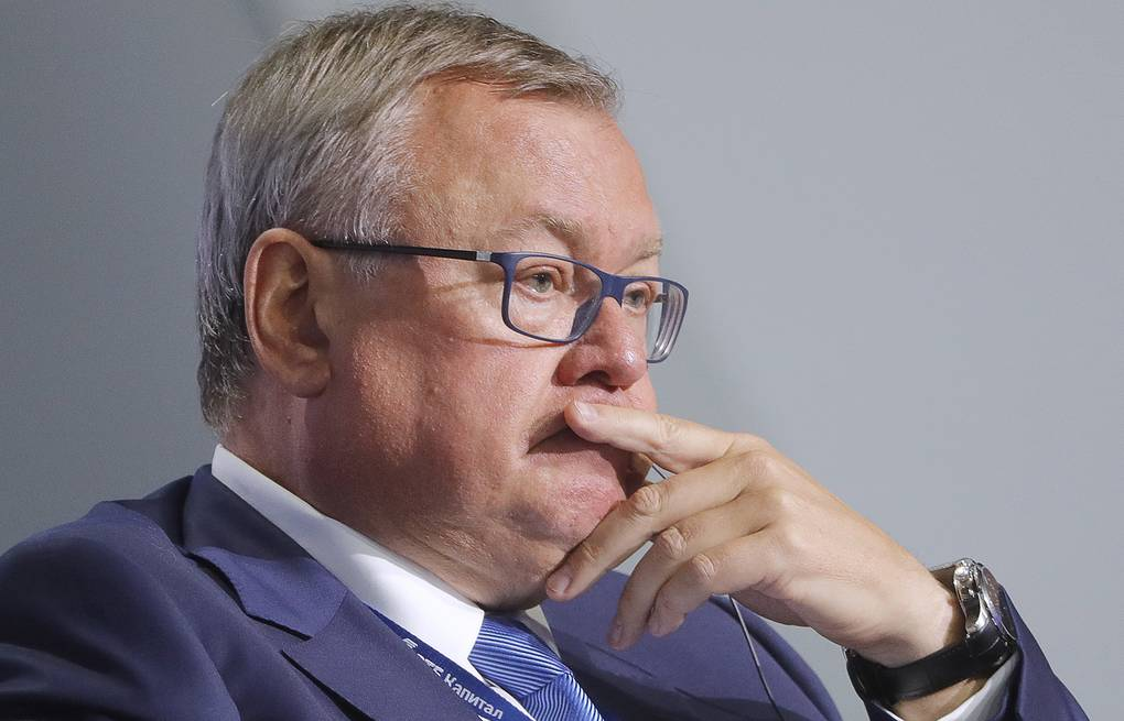 Chief Executive Officer of VTB Bank Andrei Kostin Mikhail Metzel/TASS