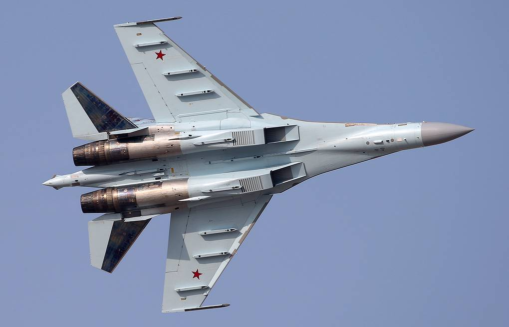 Su-35 fighter aircraft Marina Lystseva/TASS