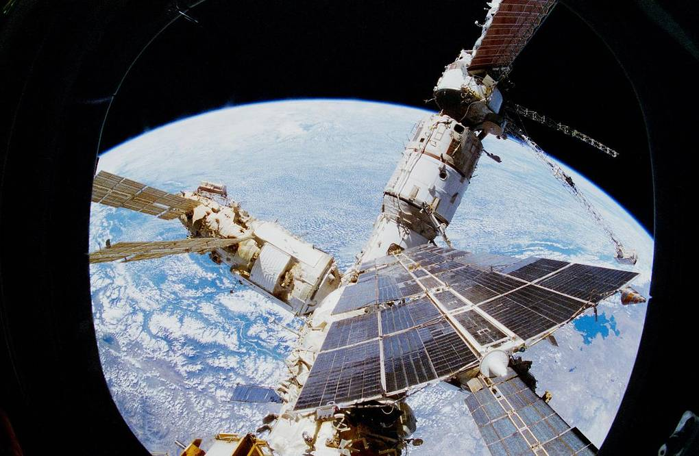Mir Space Station A Symbol Of Soviet Space Glory Science