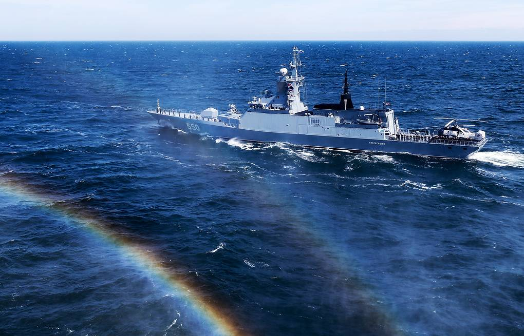 Guardians of the seas: Ten years of Russia's formidable