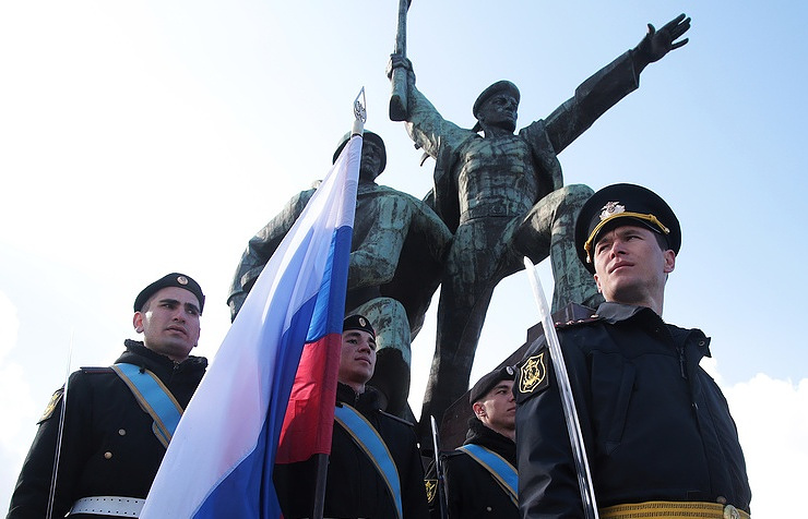Military in Crimea Alexander Karpushkin/TASS