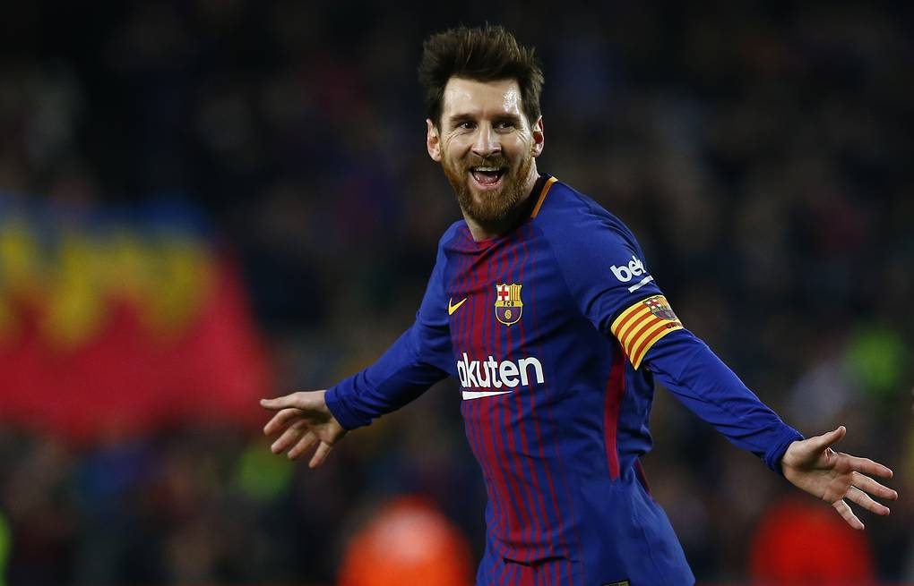 2650b2ad0 Lionel Messi aims at winning 2018 FIFA World Cup trophy in Russia ...