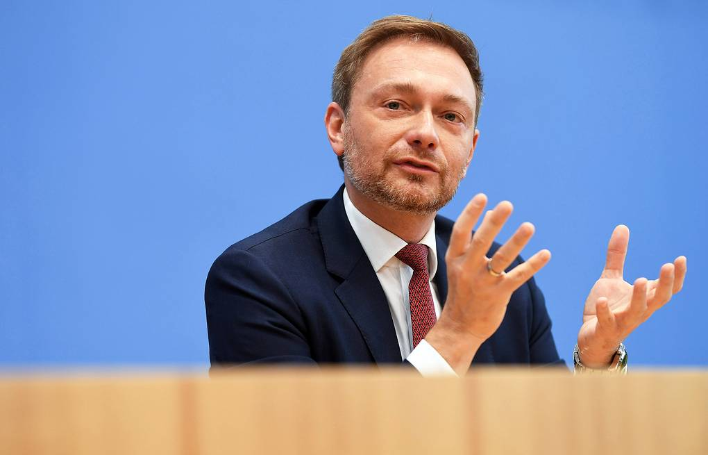 Leader of Germany's Free Democratic Party Christian Lindner  EPA-EFE/CLEMENS BILAN