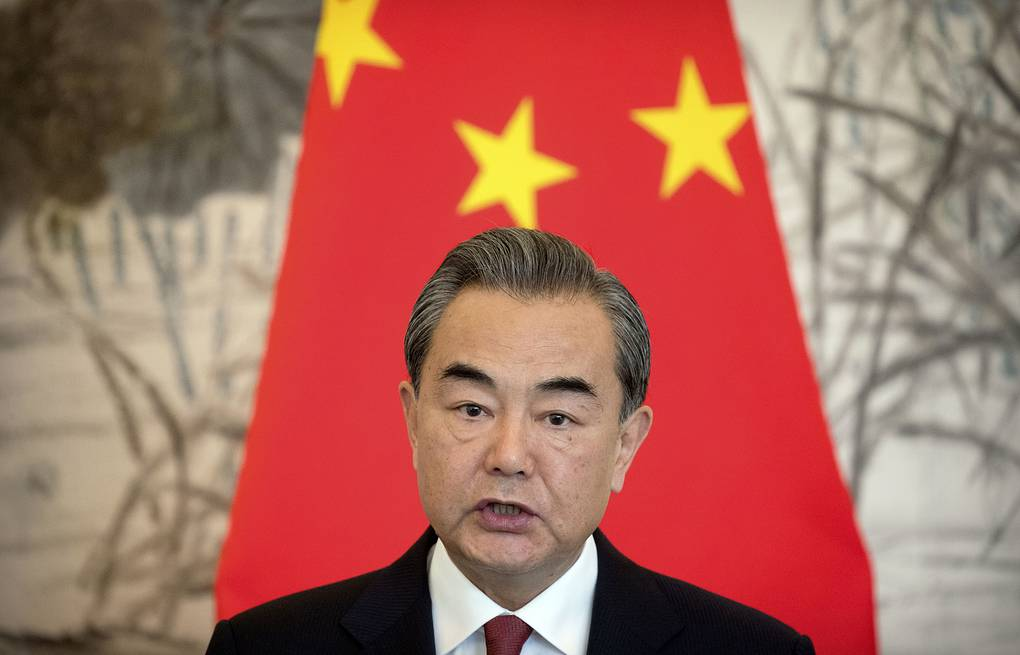 Chinese Foreign Minister Wang Yi AP Photo/Mark Schiefelbein