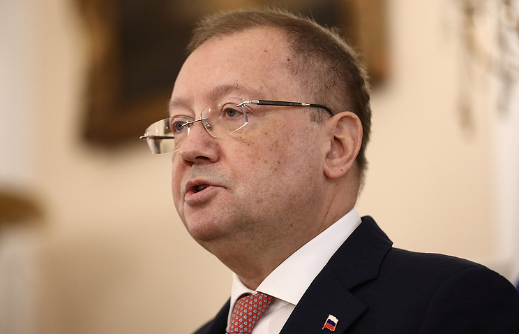 Russian Ambassador to the UK Alexander Yakovenko REUTERS/Simon Dawson