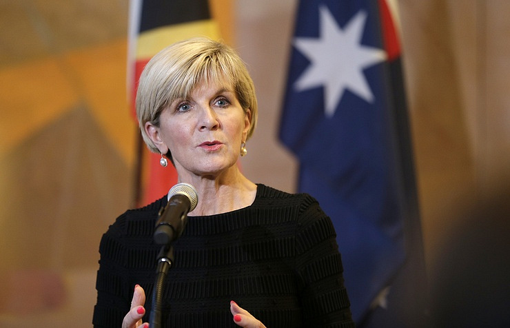 Julie Bishop AP Photo/Seth Wenig