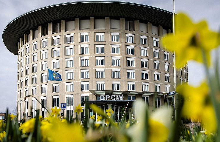 OPCW headquarter in Hague EPA-EFE/Bart Maat