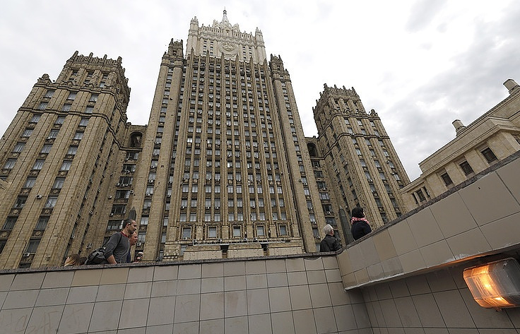 Russian Foreign Ministry building in Moscow  Mikhail Dzhaparidze/TASS