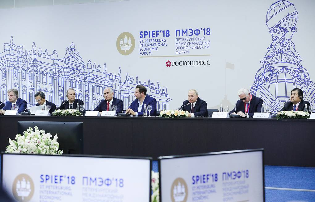 Press review: SPIEF spawns anti-sanctions coalition and will