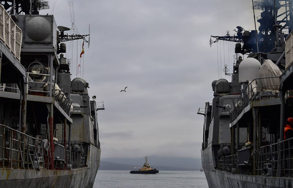 Russia's Pacific Fleet warships to hold drills with