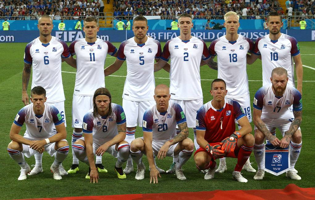 innovative design ca26d 77a93 Icelandic national football team thanks Russia for 'warm ...