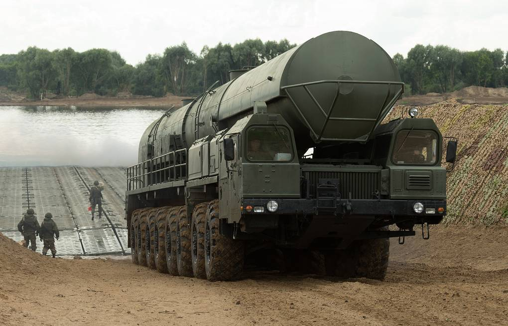 RS-24 Yars intercontinental ballistic missile system  Vadim Savitsky/Russian Defence Ministry Press Office/TASS