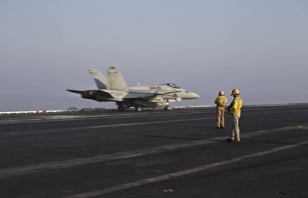 US-led coalition carries out air strikes on Syrian province