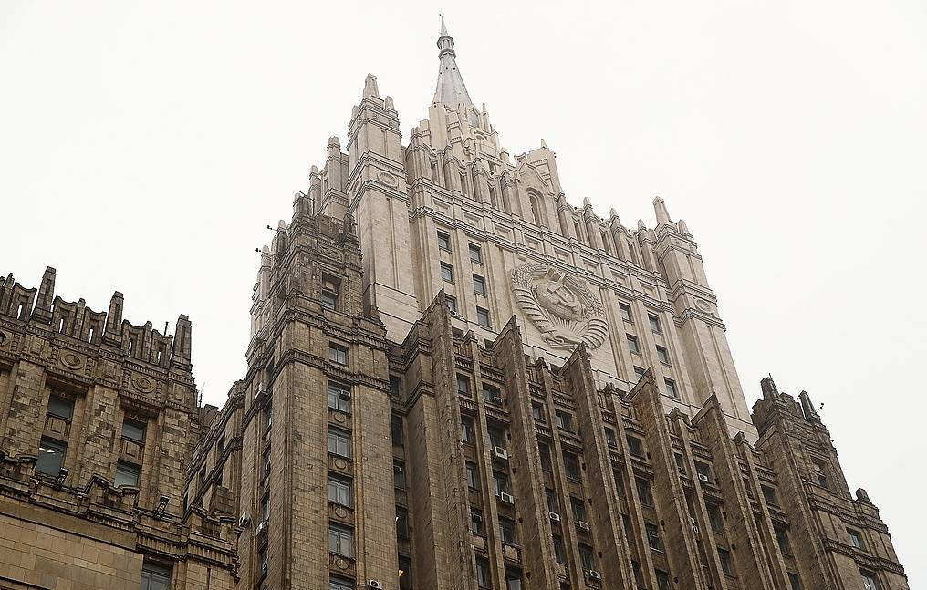 Russian Foreign Ministry Valery Sharufulin/TASS
