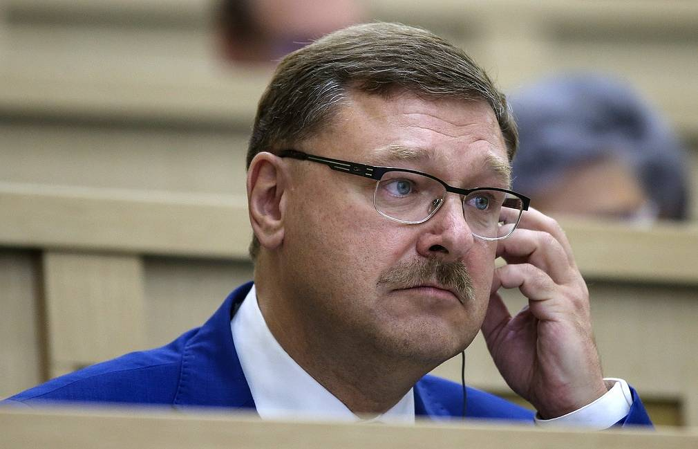 onstantin Kosachev, the chair of the Russian Federation Council's Foreign Affairs Committee Valery Sharifulin/TASS