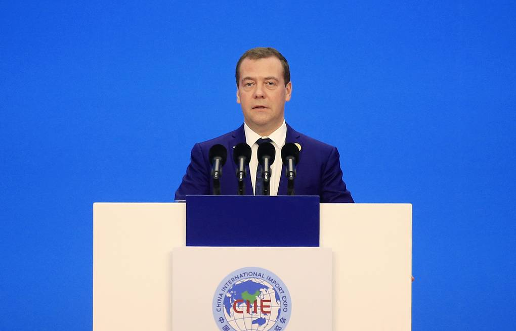 Russian Prime Minister Dmitry Medvedev Aly Song/Pool Photo via AP