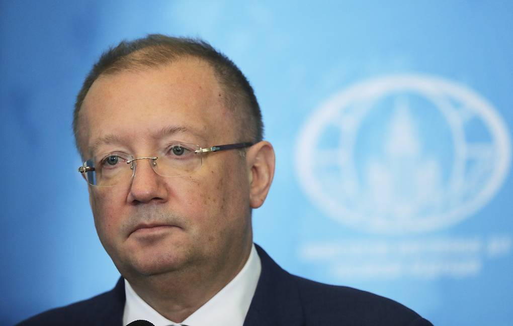 Russian Ambassador to the UK Alexander Yakovenko Mikhail Metzel/TASS