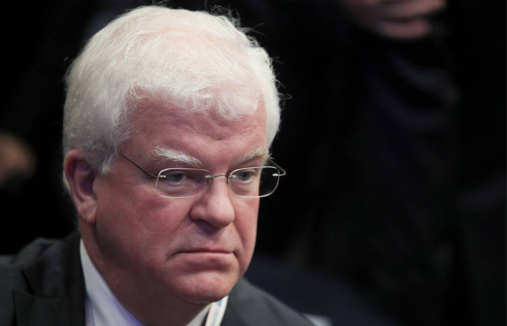Russia's Permanent Representative to the European Union Vladimir Chizhov Sergei Bobylev/TASS