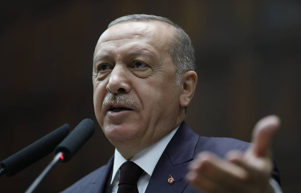 Turkish President Recep Tayyip Erdogan AP Photo/Burhan Ozbilici