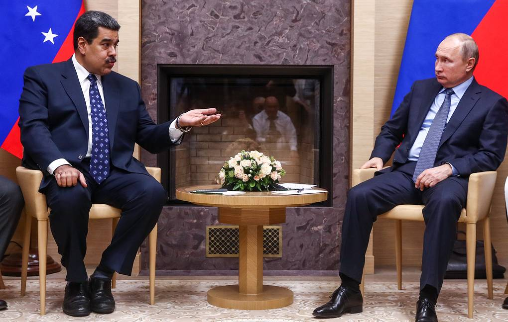 Maduro Says Meeting With Putin Most Useful In His Career World Tass