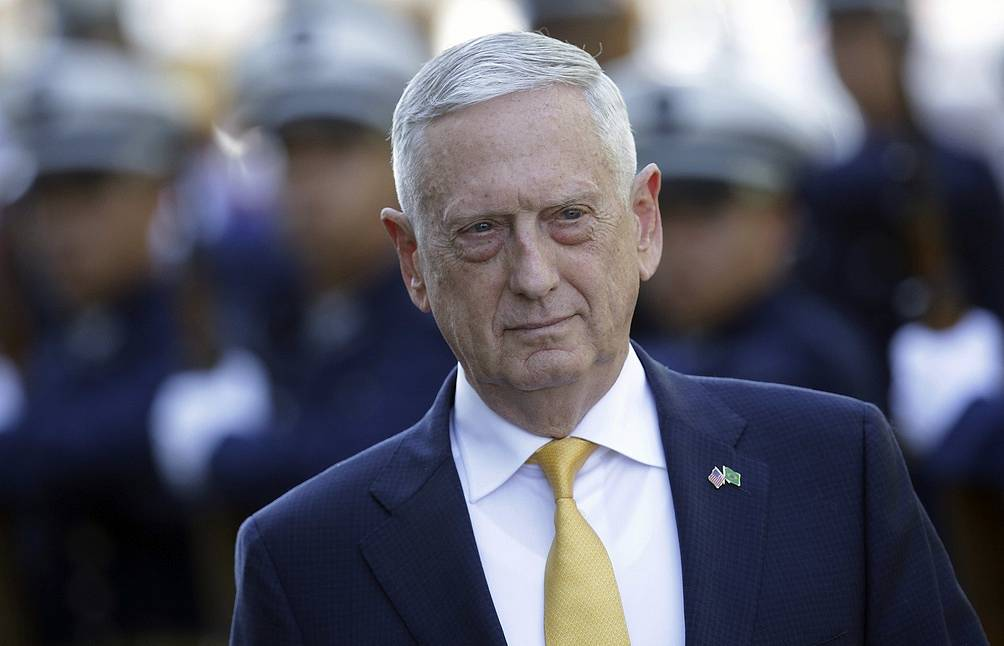 US Secretary of Defense James Mattis AP Photo/Eraldo Peres
