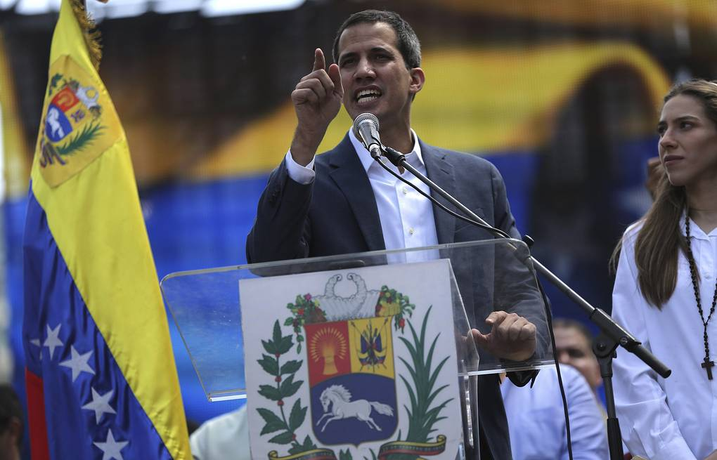 Venezuelan opposition leader Juan Guaido AP Photo/Rodrigo Abd