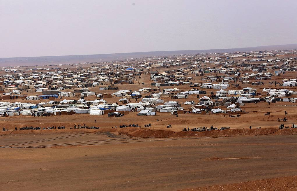 Rukban camp AP Photo/Raad Adayleh