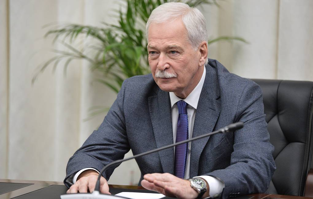 Russia's envoy to the Contact Group Boris Gryzlov Alexei Druzhinin/Russian presidential press service/TASS