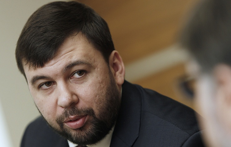 DPR's head, Denis Pushilin Alexander Shcherbak/TASS